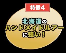 北海道のハンドメイドルアーに強い!